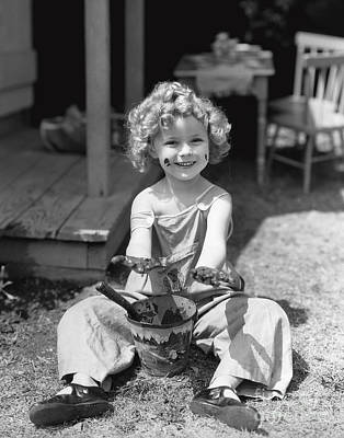Shirley Temple Art Print by MMG Archives