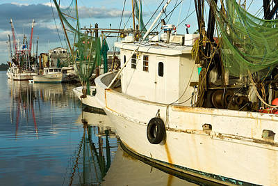 Photograph - Shrimp Boats by Denis Lemay