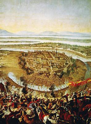 Viennese Painting - Siege Of Vienna, 1683 by Granger