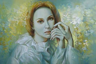 Silence Art Print by Elena Oleniuc