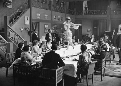 Photograph - Silent Film Still: Parties by Granger