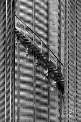 Photograph - Silos by Steven Ralser