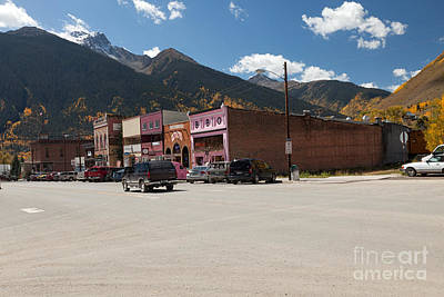 Word Signs - Silverton Colorado by Fred Stearns