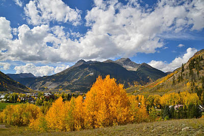 Photograph - Silverton Fall by Ray Mathis