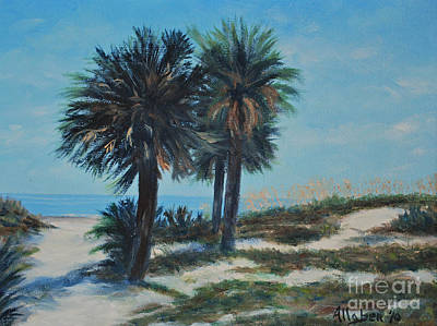 Singleton Beach Art Print by Stanton Allaben