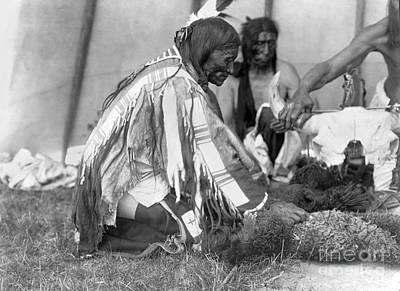 The American Buffalo Photograph - Sioux Medicine Man, C1907 by Granger