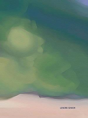 Landsape Painting - Skies by Lenore Senior