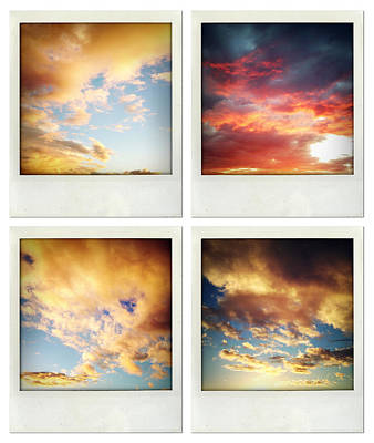Skies Art Print by Les Cunliffe