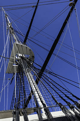 Photograph - Sky And Mast by Phil Cardamone