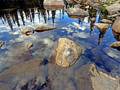 Photograph - Sky Reflections by George Tuffy