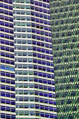 Photograph - Skyscraper Abstract by Allen Beatty