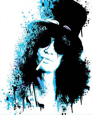 Slash Digital Art - Slash by Paul Green