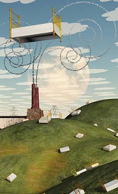 Surrealism Digital Art - Sleep by Bruce Rolff