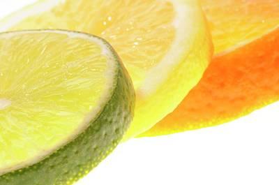 Slices Of Citrus Fruit Print by Cordelia Molloy