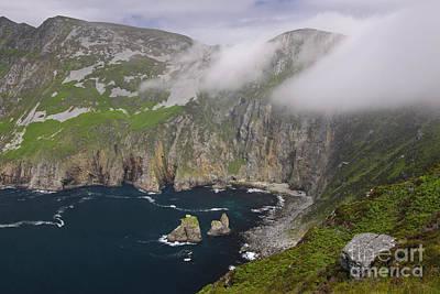 Slieve League Photograph - Slieve League Cliffs, Ireland by John Shaw