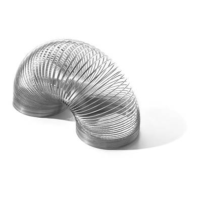 Slinky Spring Art Print