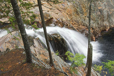 Photograph - Smalls Falls In Western Maine by Keith Webber Jr