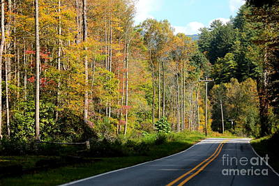 Photograph - Smoky Mountain Road Trip by Carol Groenen