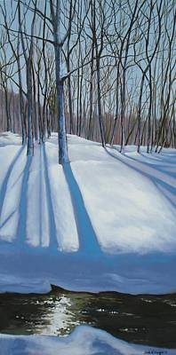 Painting - Snow Day by Sarah Grangier