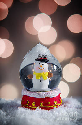 Snow Globe Art Print by Carlos Caetano