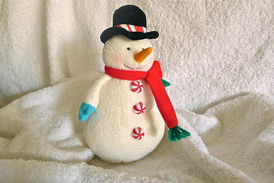 Photograph - Snowman by Denise Mazzocco