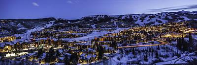 Snowmass Village Panoramic Art Print