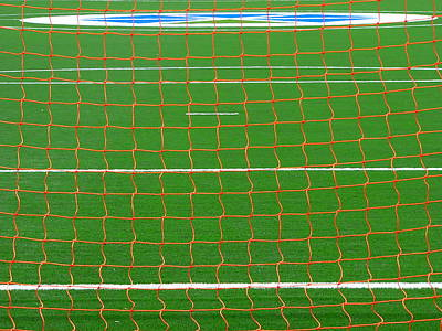 Photograph - Soccer Net by Jeff Lowe