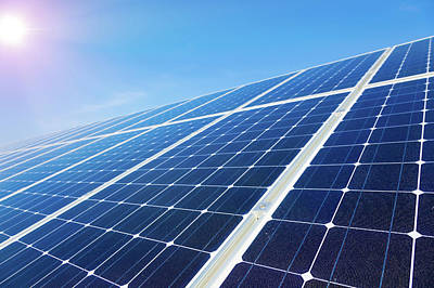 Solar Panels Art Print by Wladimir Bulgar