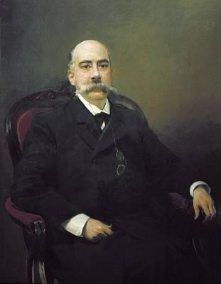 Sorolla, Joaqu�n 1863-1923. Portrait Art Print by Everett