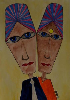 Mixed Media - Soulmates by Shruti Prasad