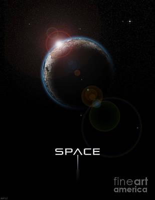 Space Art Print by Phil Perkins