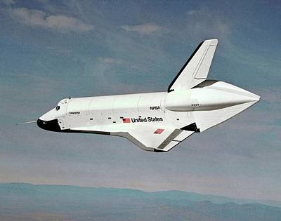 Aeronautics Photograph - Space Shuttle Prototype Testing by Nasa
