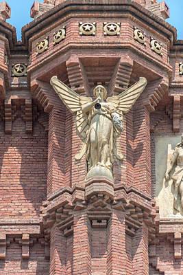 Spain, Barcelona, Arc De Triomf (large Art Print