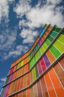 Contemporary Art Museum Photograph - Spain, Castilla Y Leon Region, Leon by Walter Bibikow
