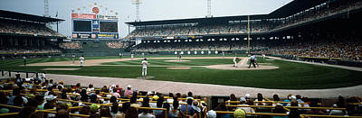 Comiskey Photograph - Spectators Watching A Baseball Match by Panoramic Images