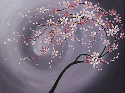 Sakura Painting - Spring Blossoms by Tomoko Koyama
