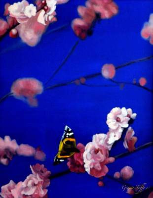 Painting - Spring Butterfly by George Tuffy