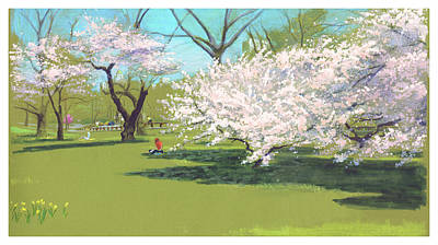 Painting - Spring by Clifford Faust