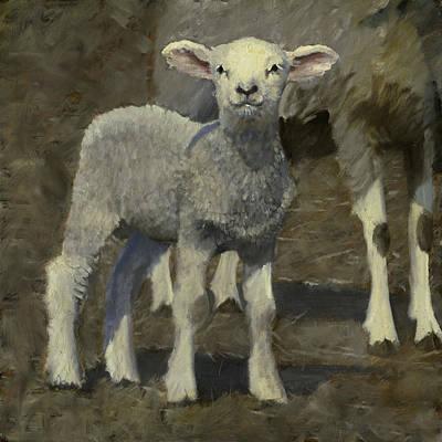 Painting - Spring Lamb by John Reynolds