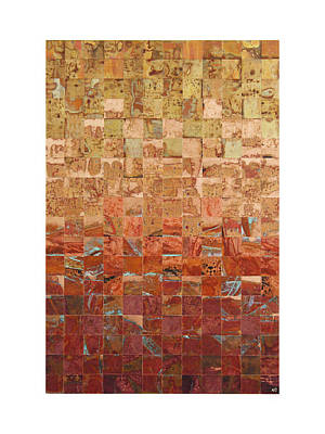 Abstract Art Large Scale Mixed Media - Spring Series  by Adam Colangelo
