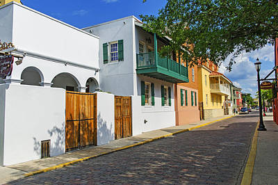 Photograph - St. Augustine Florida by Willie Harper