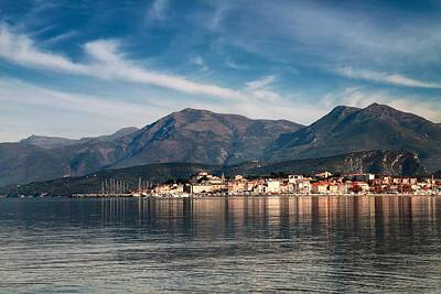 Priska Wettstein Pink Hues - St Florent in Corsica by Jon Ingall