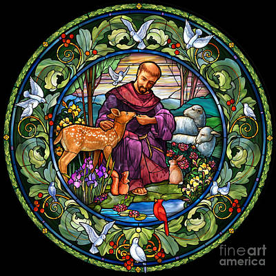 St. Francis Of Assisi Art Print
