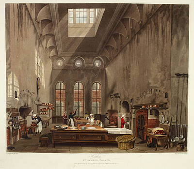 Tableware Photograph - St. James's Palace by British Library
