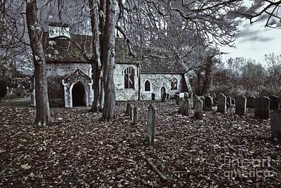 St Margaret Of Antiochs Church Linstead Art Print by Darren Burroughs