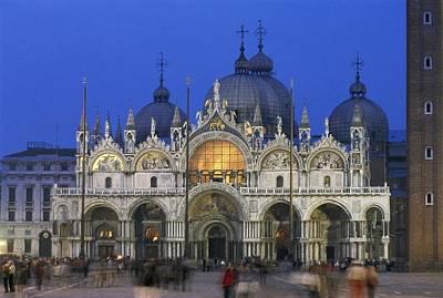 St. Marks Basilica. Italy. Veneto Print by Everett