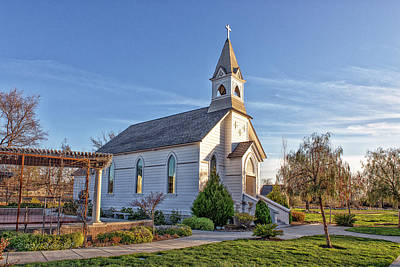 Photograph - St. Mary's Chapel by Jim Thompson