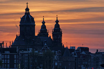 Photograph - St Nicholas Church Amsterdam by Shirley Mitchell