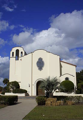 Photograph - St. Peter Catholic Church by Laurie Perry