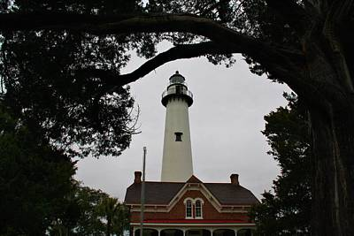 Photograph - St Simons Island Lighthouse by Kathryn Meyer